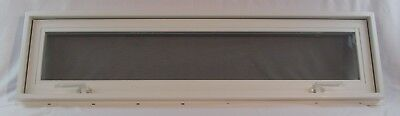 Transom Awning Window Insulated PVC 48 x 12 Booth Tiny House Playhouse Homes