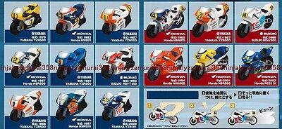 MotoGP promo Friction motorbike set of 15 JPN LTD figure car moto gp