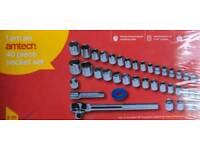 Socket Set 40pc