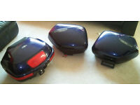 Honda VFR Topbox and Panniers including soft luggage bags