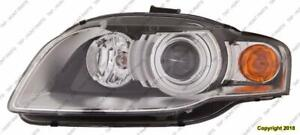 Head Light Driver Side [A4 2005-2008] [Cabriolet 2007-2009] HID Without Curve High Quality Audi A4