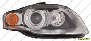 Head Light Passenger Side HID Without Curve [A4 2005-2008] [Cabriolet 2007-2009] High Quality Audi A4