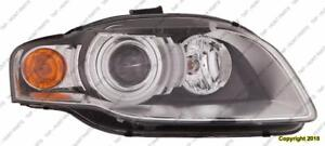 Head Lamp Passenger Side HID Without Curve [A4 2005-2008] [Cabriolet 2007-2009] High Quality Audi A4
