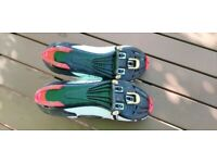 Muddy fox cycling clip on shoes