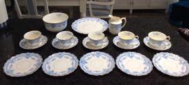 Victorian 21 piece Tea Set