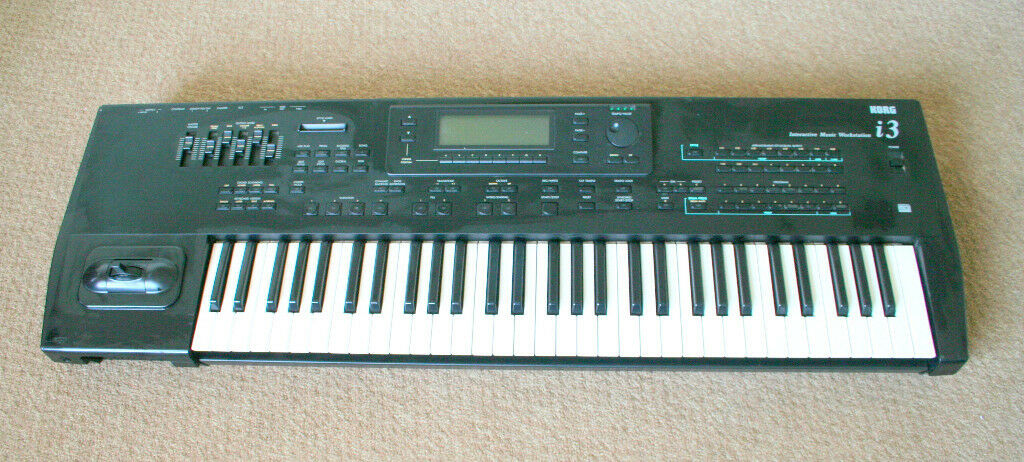 korg i3 keyboard for sale well used but in working order in llandudno conwy gumtree. Black Bedroom Furniture Sets. Home Design Ideas