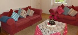 Two Comfortable Sofas Available- £40 for both.