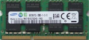 8GB DDR3L SODIMM 1600MHZ - PC3-12800 (1X8GB Laptop Geheugen)