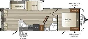 2017 Outback 278URL Travel Trailer