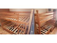 Pine bunk beds - used but in very good condition