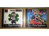 Theme Hospital & Park World PS1 Games Bundle