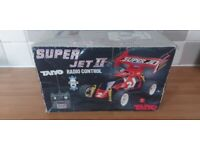 Rare Taiyo Super Jet 2 retro 80s RC CAR boxed