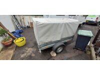 Trigano 7ft x 4ft trailer Galvanised