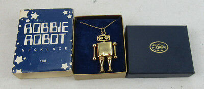 Robbie Robot Lost In Space Pendant Necklace Fuller Brush Co Premium