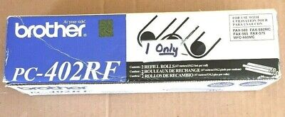 1 Roll Sealed Brother Pc-402rf Ink Toner Refill Fax-560 565 580mc 575