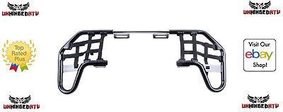 Tusk Comp Series Nerf Bars Black/Black Webbing Fits Kawasaki KFX 450R 2008–2014