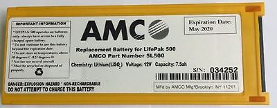 Physio Control Lifepak 500 1141-000155 Lith-ion Replacement Battery Lp500