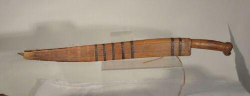 Antique South East Asian Borneo Sumatra Philippines Headhunter Sword Head Blade