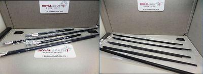 Toyota FJ Cruiser & 4Runner Door Belt Mouldings Weatherstrip Kit Genuine OEM OE
