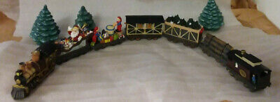 JCPenney Home Towne Express 1998 Christmas Collectors Decorative Train Set
