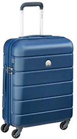 Delsey Paris Lagos Suitcase, 55 cm, 44 litres, Light Blue