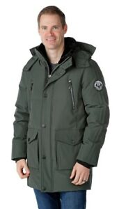 Arctic Expedition Men's Down Long Parka