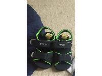 Ralph Lauren baby boy sandals size 6 brand new