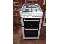 Zanussi double oven gas cooker £100