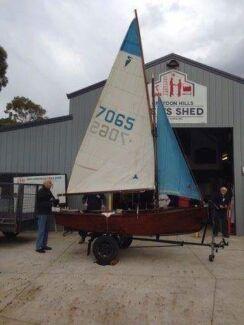 Restored Heron Yacht