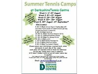 KIDS TENNIS SUMMER CAMPS!!!
