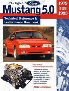 The Official Ford Mustang 5.0 Technical Reference Performance Book Blacktown Blacktown Area Preview