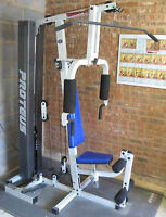 FOR SALE EXERCISE AND WEIGHT HOME GYM
