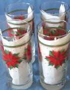 Libbey Christmas Glasses