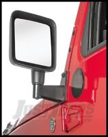 Rugged Ridge Mirror Relocation Bracket in Black For 2007+ Jeep