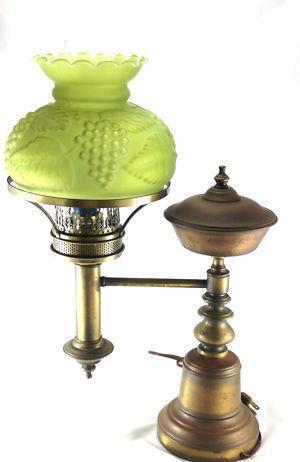 antique glass kerosene lamp shades ebay. Black Bedroom Furniture Sets. Home Design Ideas