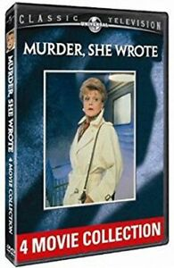 Mint! Murder She Wrote - 4 Movie Collection (2 DVD Disc Set)