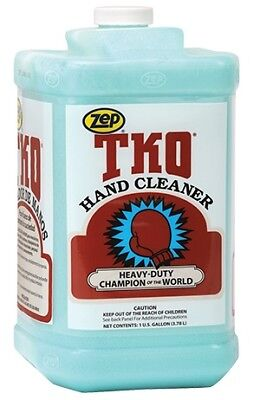 Zep R54824 Tko Heavy Duty Hand Cleaner Lemon-lime Bluegreen 1 Gal. Bottle
