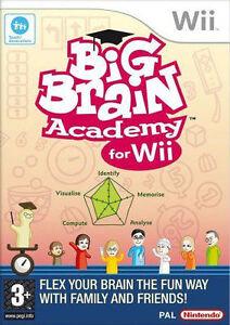 Big Brain Academy  Nintendo Wii  NEW - <span itemprop='availableAtOrFrom'>kent, United Kingdom</span> - Big Brain Academy  Nintendo Wii  NEW - kent, United Kingdom