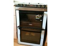 Zanussi ZCV550MXC Double Oven Electric Cooker