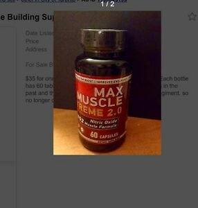 Muscle Max Xtreme 2.0 - Muscle Building Supplement
