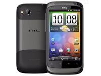 HTC DESIRE S GRAPHITE GREY / BLACK UNLOCKED MOBILE PHONE SMARTPHONE