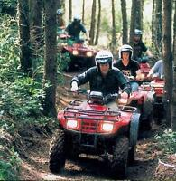 ATV TOURS... Scenic, guided tours, book yours today.only $90