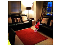 Black 2 and a 3 recliner sofa originally from Sofa Works - 3/4 years old Used