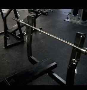 Nautilus olympic flat bench commercial quality