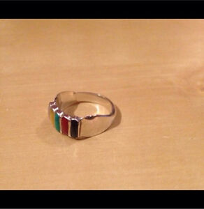 Sterling Silver .925 Stamped Ring