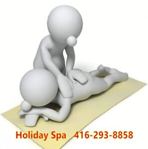 ♥ HOLIDAY SPA♥  Full Body Professional Massage ♥416-293-8858