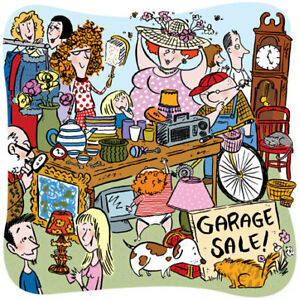 **GARAGE SALE**FRI JUNE 22-9-5/DUPONT/SYMINGTON