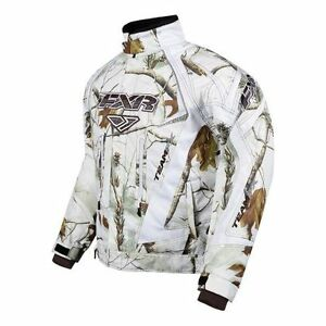 White camo fxr jacket