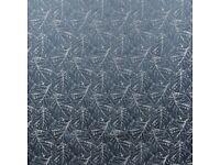 CURTAIN FABRIC - ASHLEY WILDE - ELM SKY APPROX 10M