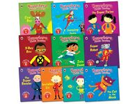 Superhero Phonics Readers Collection